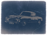 Mercedes Benz 300 Sl Plastic Sign by  NaxArt