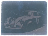 Porsche 356 Coupe Front Plastic Sign by  NaxArt