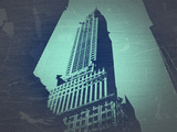 Chrysler Building Plastic Sign by  NaxArt