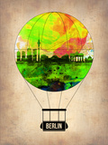 Berlin Air Balloon Plastic Sign by  NaxArt