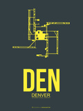 Den Denver Poster 1 Plastic Sign by  NaxArt
