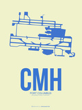 CMH Port Columbus Poster 2 Plastic Sign by  NaxArt