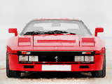 1980 Ferrari 288 GTO Front Watercolor Plastic Sign by  NaxArt