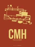CMH Port Columbus Poster 1 Plastic Sign by  NaxArt