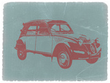 Citroen 2Cv Plastic Sign by  NaxArt