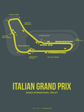 Italian Grand Prix 2 Plastic Sign by  NaxArt
