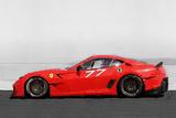 2006 Ferrari 599 GTB Fiorano Watercolor Plastic Sign by  NaxArt
