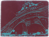 Eiffel Tower Plastic Sign by  NaxArt
