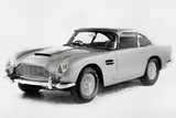 1964 Aston Martin DB5 Watercolor Signes en plastique rigide par  NaxArt