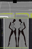 Fashion Dance Plastic Sign by  NaxArt
