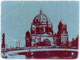 Berlin Cathedral Plastic Sign by  NaxArt