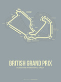 British Grand Prix 1 Plastic Sign by  NaxArt