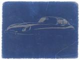 Jaguar E Type Plastic Sign by  NaxArt