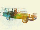 Jeep Wagoneer Plastic Sign by  NaxArt