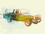 Jeep Wagoneer Plastic Sign by  NaxArt