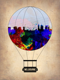 Melbourne Air Balloon Plastic Sign by  NaxArt
