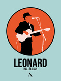 Leonard Plastic Sign by David Brodsky