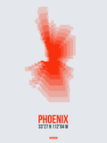 Phoenix Radiant Map 4 Plastic Sign by  NaxArt