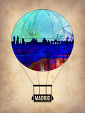 Madrid Air Balloon Plastic Sign by  NaxArt