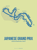 Japanese Grand Prix 2 Plastic Sign by  NaxArt