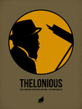Thelonious 2 Plastic Sign by Aron Stein