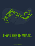 Monaco Grand Prix 2 Plastic Sign by  NaxArt