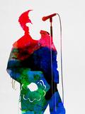Noel Watercolor Signes en plastique rigide par Lora Feldman