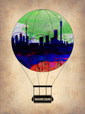 Johannesburg Air Balloon Plastic Sign by  NaxArt