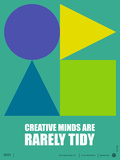 Creative Minds Poster Plastic Sign by  NaxArt