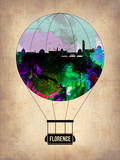 Florence Air Balloon Plastic Sign by  NaxArt