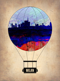 Milan Air Balloon Plastic Sign by  NaxArt