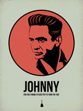 Johnny 2 Plastic Sign by Aron Stein
