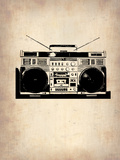 Vintage Radio 1 Plastic Sign by  NaxArt