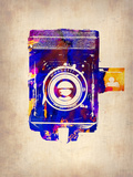 Vintage Camera 2 Plastic Sign by  NaxArt