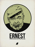 Ernest 2 Plastic Sign by Aron Stein