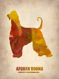 Afghan Hound Poster Plastic Sign by  NaxArt
