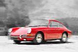1964 Porsche 911 Watercolor Znaki plastikowe autor NaxArt