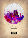 Boston Air Balloon Plastic Sign by  NaxArt
