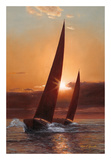 Red Sails Posters by Diane Romanello