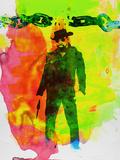 Unchained Watercolor Plastskilt av Anna Malkin