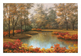 Beauty of Autumn Print by Diane Romanello