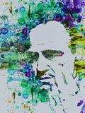Godfather Watercolor Plastikskilte af Anna Malkin
