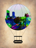 Grand Rapids Air Balloon Plastic Sign by  NaxArt