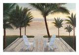 Palm Beach Retreat Poster by Diane Romanello