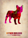 French Bulldog Poster Plastic Sign by  NaxArt