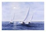 Blue Sails Posters by Diane Romanello