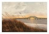View of Captree Bridge Posters by Diane Romanello