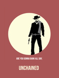 Unchained Poster 2 Plastic Sign by Anna Malkin