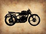 Vintage Motorcycle 2 Plastic Sign by  NaxArt