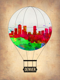 Denver Air Balloon Plastic Sign by  NaxArt